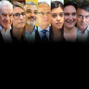 Candidats eleccions Municipals per Barcelona i Debtat TV3 - Guillem Camos i ACN