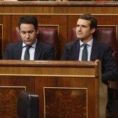 Bancada PP Pablo Casado ana Pastor teodoro García Egea Congres - europa press