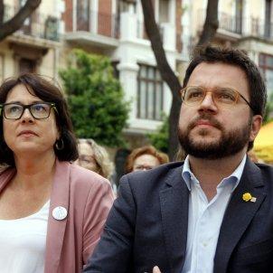 Pere Aragonès Diana Riba Tarragona europees - ACN