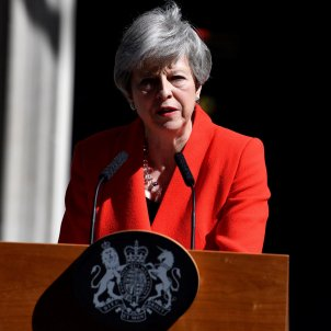 Theresa May anuncia dimissió EFE