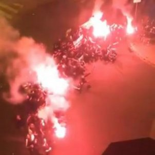 Aficionats Barca Sevilla final Copa
