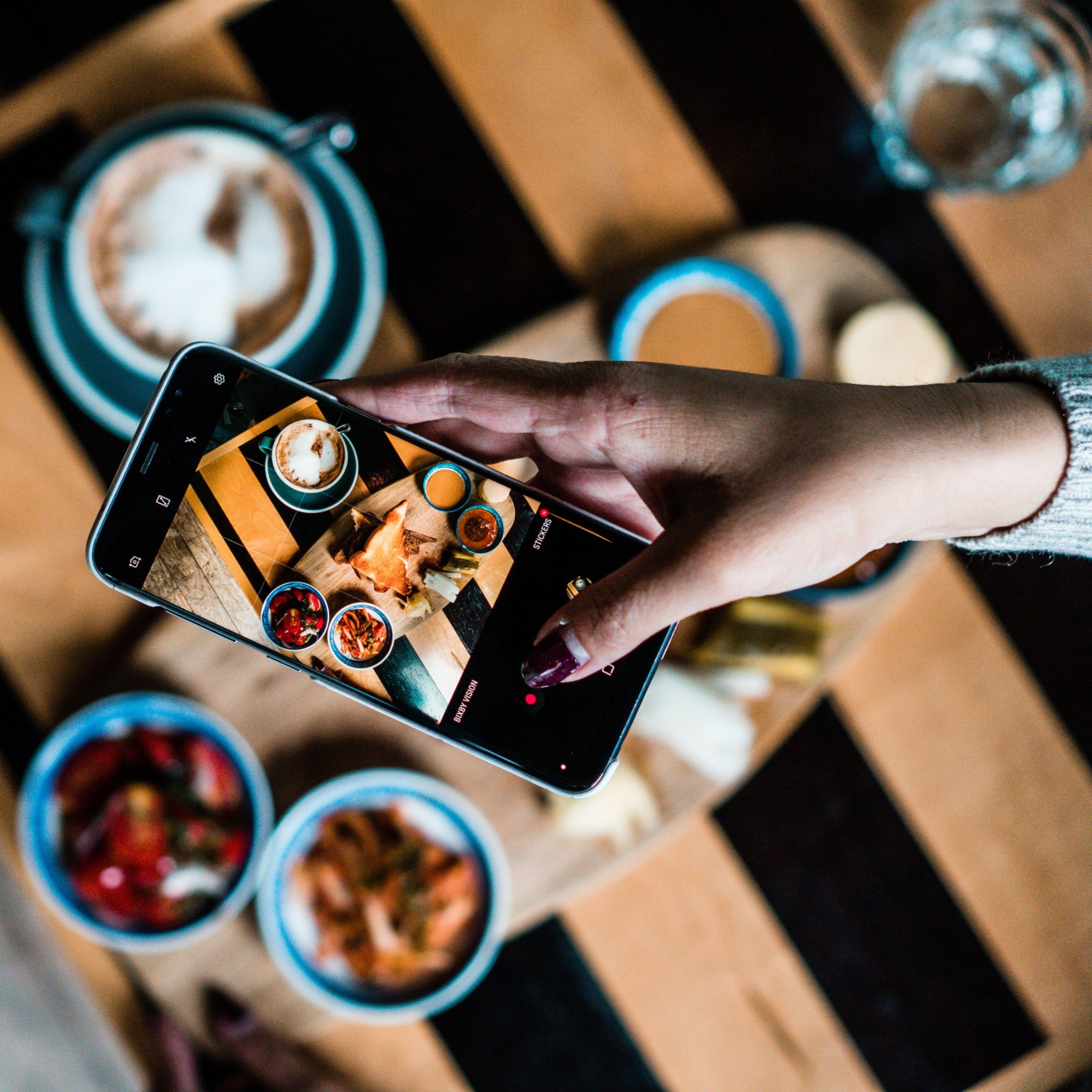 Diario de comidas Unsplash