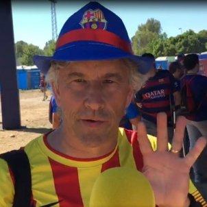 Enquestat 2 Barça Valencia Copa del Rei Bernat Aguilar
