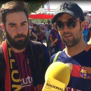 Enquestat 3 Barça Valencia Copa Rei Bernat Aguilar