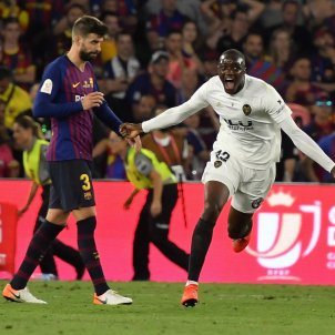 Gerard Piqué Diakhaby Final Copa Barça València EFE