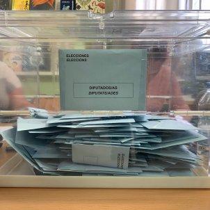 Urna eleccions europees 26 M Sergi Alcàzar