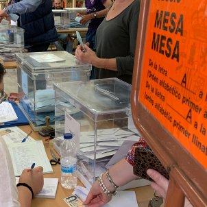 Mesa electoral 26 M   Sergi Alcàzar