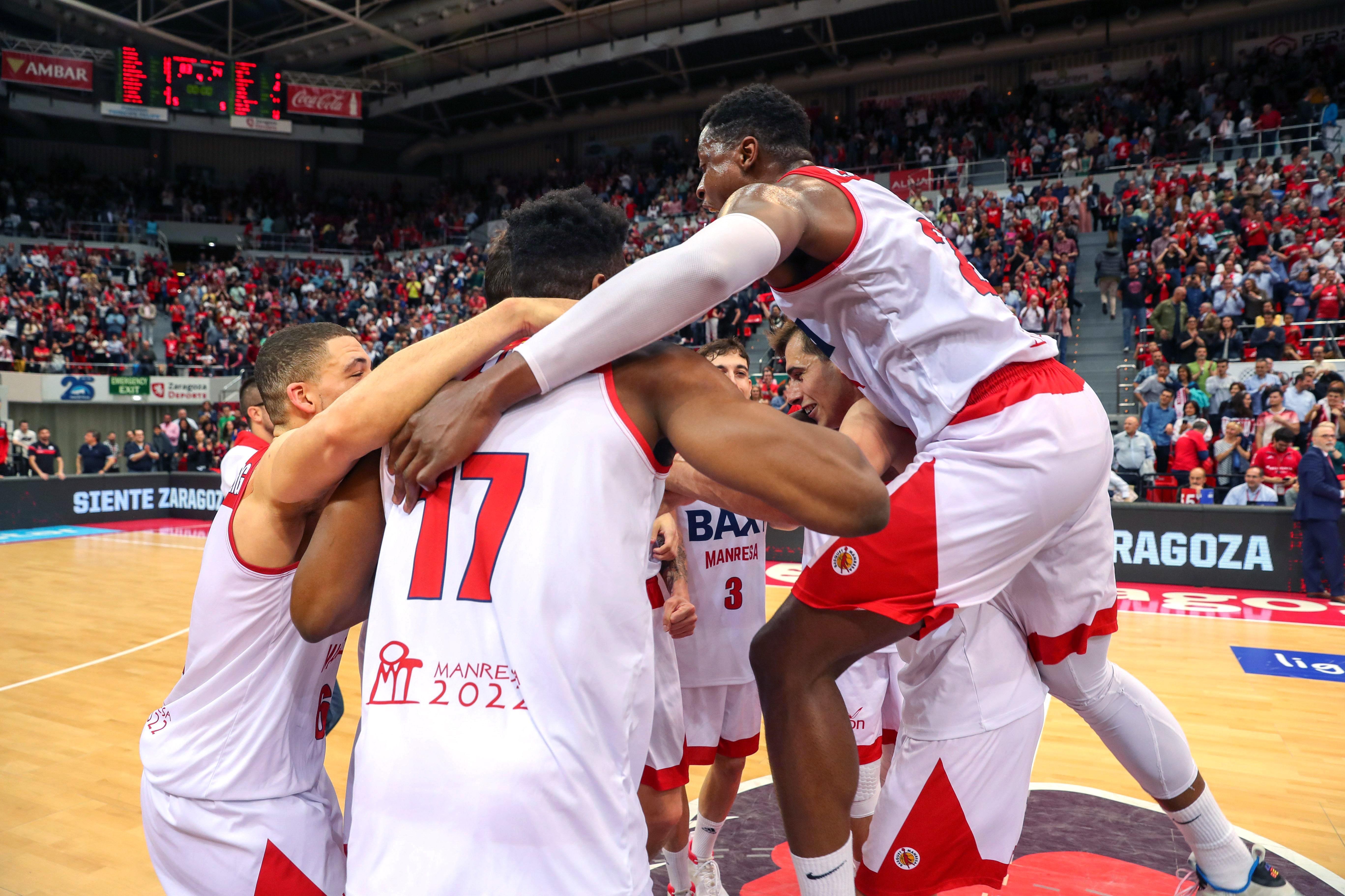 BAXI Manresa basket Play Off Saragossa ACB EFE