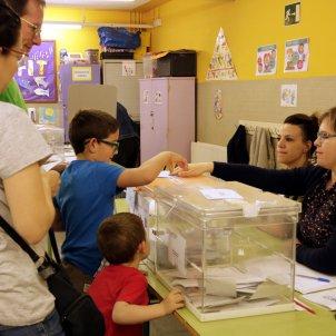 participació eleccions municipals LLeida 2019 ACN