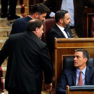 Junqueras Sanchez Congres EFE