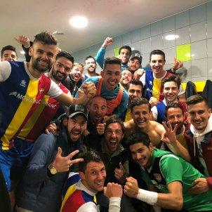FC Andorra celebracio vestuari @FCA oficial