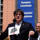 Puigdemont prepara una intervenció des de Ginebra a les portes de constituir-se l'Eurocambra