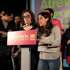 Anna SAliente Eulalia Reguant  CUP munucipals - ACN