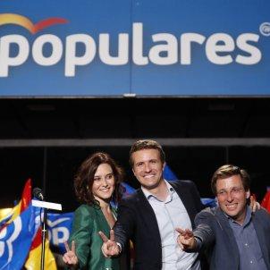 PP Madrid Casado, Almeida, Díaz Ayuso Efe
