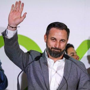 Santiago Abascal Vox nit electoral - Efe