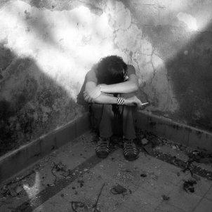 Cara a la paret (Andrés Salinas)