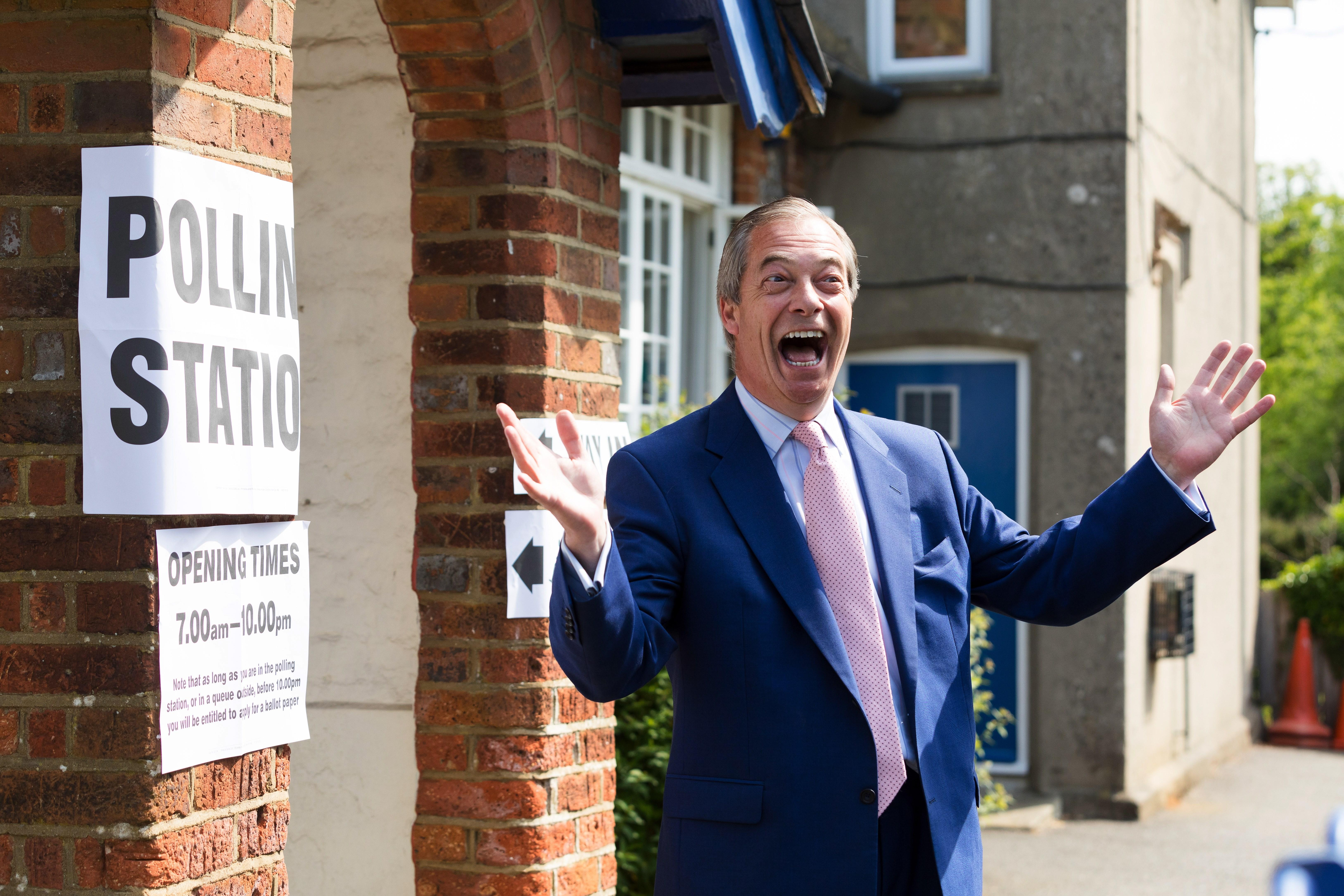 nigel farage efe