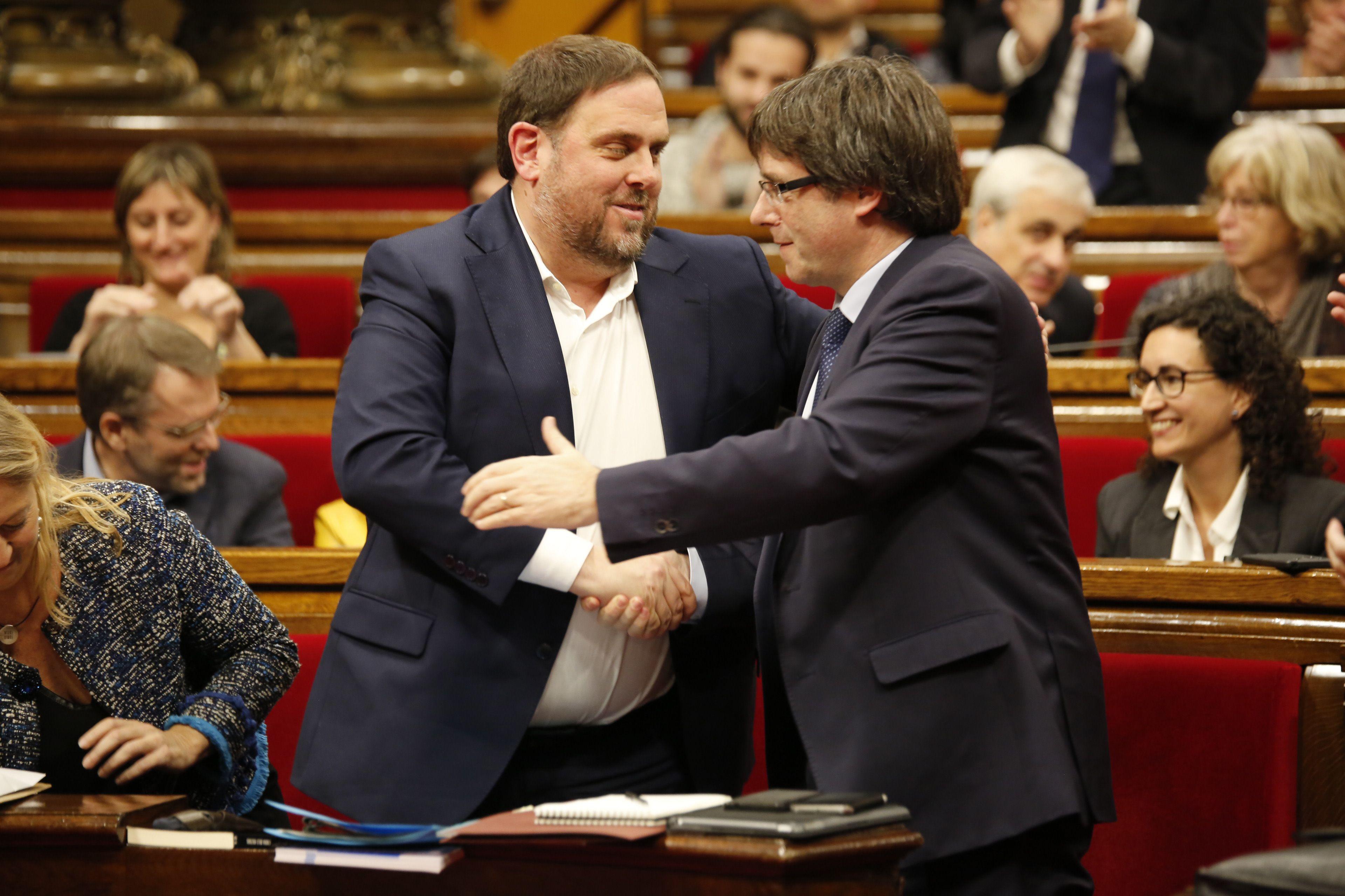 Junqueras Puigdemont Pressupostos - Sergi Alcazar