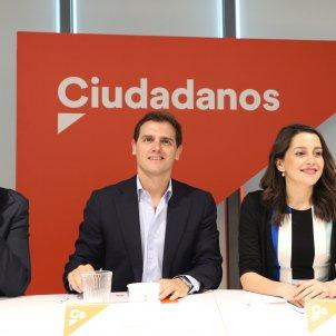 Ciudadanos José Manuel Villegas Albert Rivera Inés Arrimadas - EuropaPress