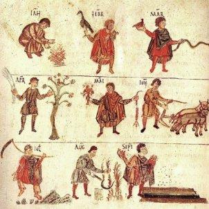 Test 60. Els primers comtats catalans. Calendari pagès (818). Abadia de Sant Pere. Salzburg.