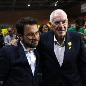 Pere Aragonès Ernest Maragall campanya electoral ACN