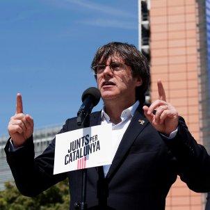 Carles Puigdemont acte campanya Brussel·les EFE
