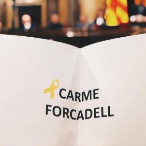 Carme Forcadell votació
