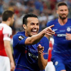 Pedro Rodríguez Chelsea Arsenal EFE