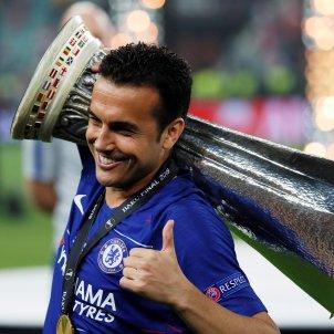 Pedro Rodriguez Final Europa League Chelsea Arsenal EFE