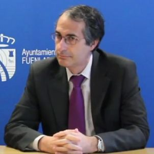 Fernando Suárez rector URJCI plagi ayto Fuenlabrada