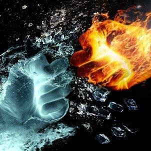 Foc i aigua (Iván Tamás, Pixabay)