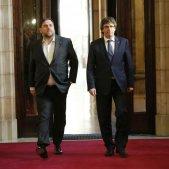 Puigdemont i Junqueras - Sergi Alcazar