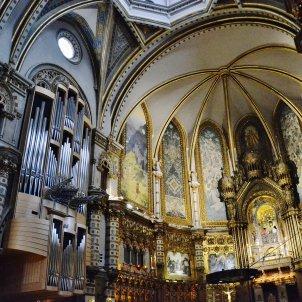 Monestir de Santa Maria de Montserrat orgue Maria Rosa Ferré Wikipedia