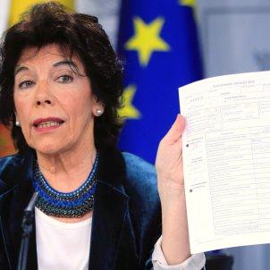 Celaa Consell de Ministres EFE