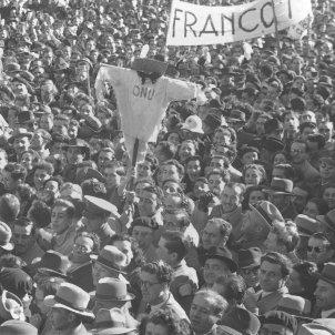 manifestacio placa oriente francisco franco onu 1946 nacions unides efe