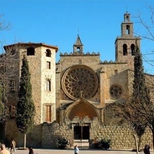 Monestir de Sant Cugat wikiepdia