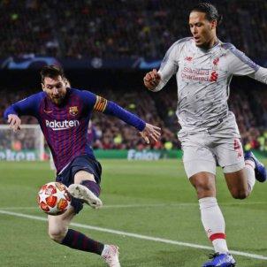 Messi Van Dijk Barca Liverpool EFE
