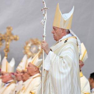 papa francesc romania efe
