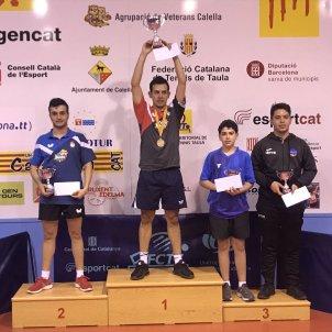 Tennis taula català individual masculí FCTT
