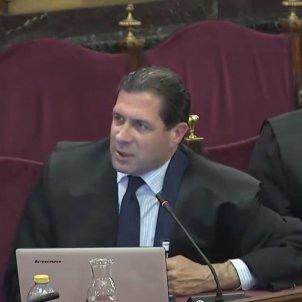 Judici proces Acusació Vox Pedro Fernandez Javier Ortega