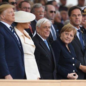 Angela Merkel Donald Trump EFE