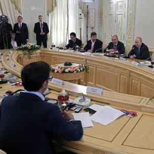 Putin roda premsa internacional EFE