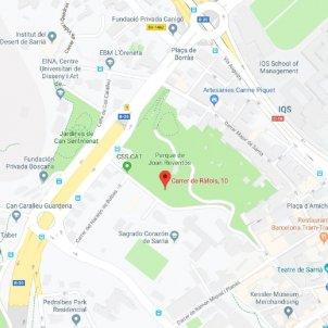 fossa sarria guerra civil google maps