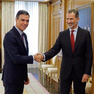 President espanyool Pedro Sánchez PSOE Rei consultes - Efe