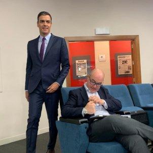 Pedro Sánchez moncloa PSOE - Nicolas Tomás