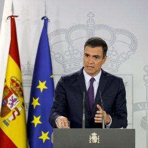Pedro Sánchez Moncloa investidura EFE