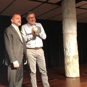 Jean Quatremer Conseller Alfred Bosch premis Apec - @APEC_CAT