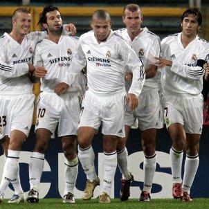Beckham Figo Ronaldo Zidane Raul @realmadrid