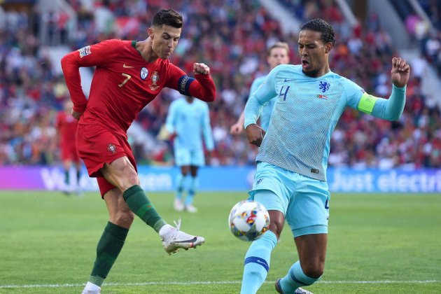 Cristiano Van Dijk Portugal Holanda Final Nations League @UEFAEuro