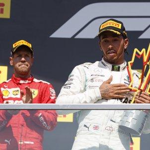 Vettel Hamilton EFE